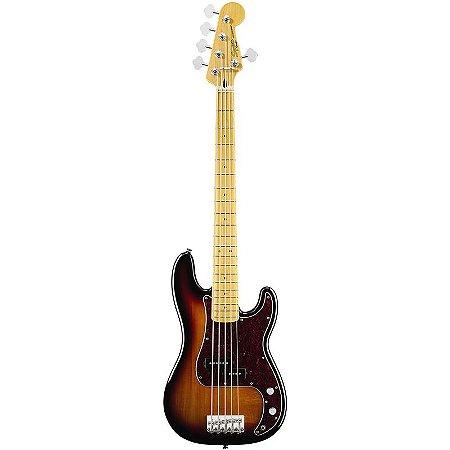 Contrabaixo Fender Squier Vintage Modified Precision Bass V Sunburst