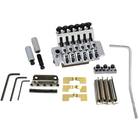 Ponte Floyd Rose Tremolo Completo Gotoh Ge1996t Ghl 2 Cromada F3