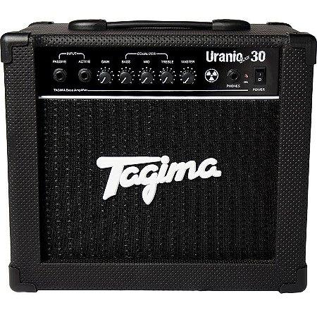 Cubo Amplificador Para Contrabaixo Tagima Uranio Bass 30