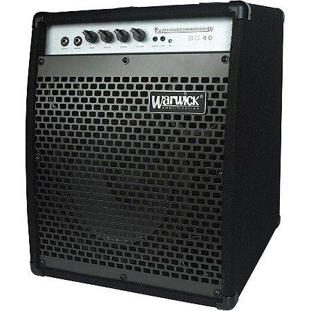 Cubo Amplificador Para Contrabaixo Warwick 40w Bc40
