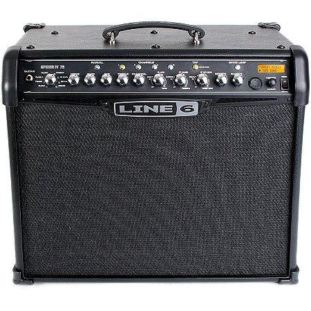 Cubo Amplificador Para Guitarra Line6 Spider IV 75W