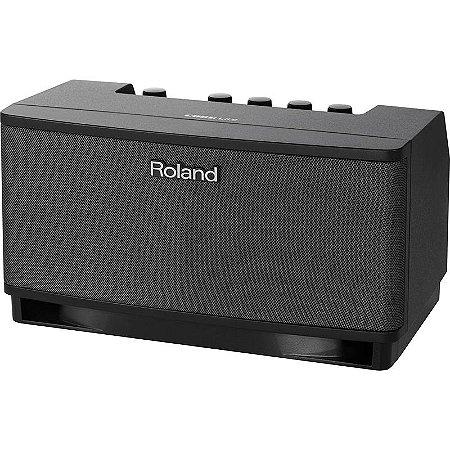 Cubo Amplificador Para Guitarra Roland Cube Lite Preto