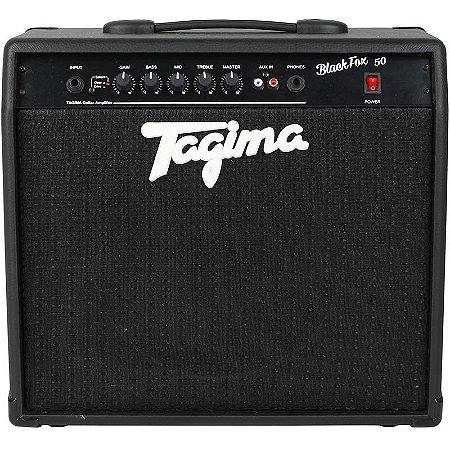 Cubo Amplificador Para Guitarra Tagima Black Fox 50