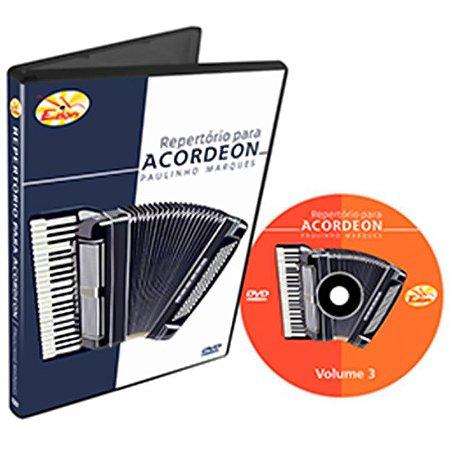 Curso DVD De Repertório Para Acordeon Vol 3 Edon
