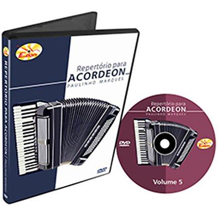 Curso DVD De Repertório Para Acordeon Vol 5 Edon