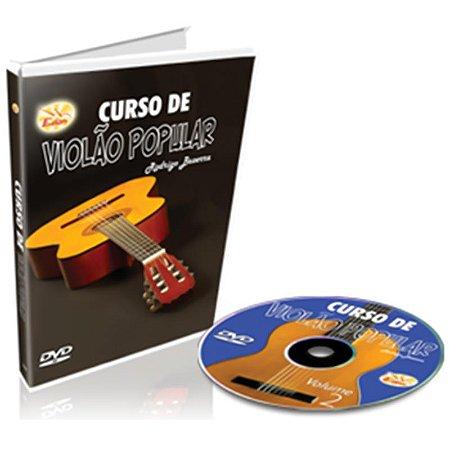Curso DVD Violão Popular Intermediário Vol 2 Edon