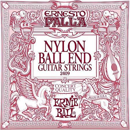 Encordoamento Ernie Ball Nylon Ernesto Palla Classical 2409 Tensão Média