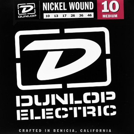 Encordoamento Guitarra 010 Dunlop Nickel Wound Medium