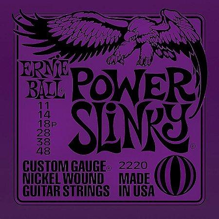 Encordoamento Guitarra 011 Ernie Ball Power Slinky 2220