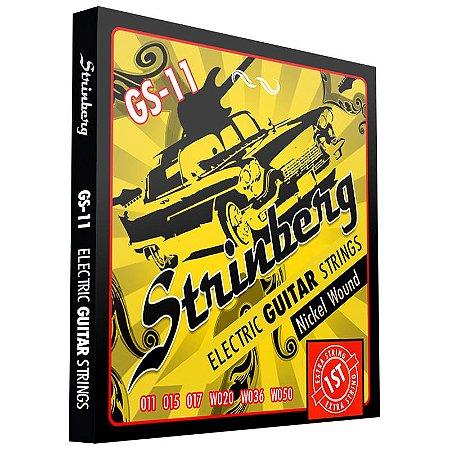 Encordoamento Strinberg Guitarra 011 Gs11
