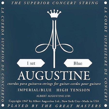 Encordoamento Violão Nylon Augustine Imperial Blue Tensão Alta