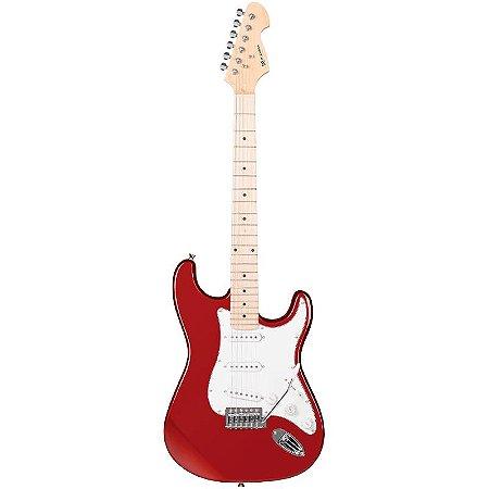 Guitarra Michael Stratocaster Gm227 Vermelho Metálico