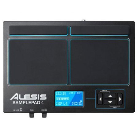 Percussão Digital Alesis SamplePad 4 Midi Usb