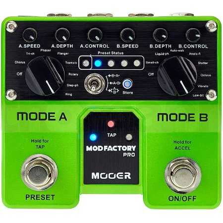 PEDAL MOOER MOD FACTORY PRÓ DUAL MODULATION TME1 MULTIEFEITOS