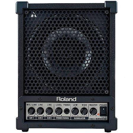 Amplificador Caixa De Som Multiuso Roland Cm30 30w Rms