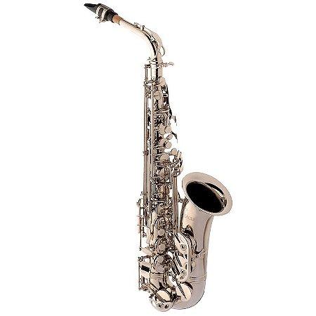 Saxofone sax Alto Eagle SA500N Mib (Eb) Com Case
