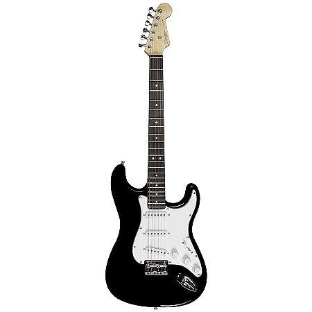 Guitarra Fender Stratocaster Squier Mainstream 506 Preto