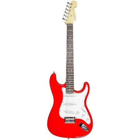 Guitarra Squier fender Stratocaster Mainstream 558 Vermelha