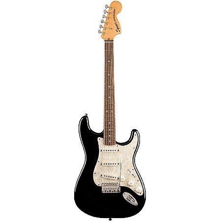 Guitarra Fender Squier Stratocaster Classic Vibe 70s Lr Preta