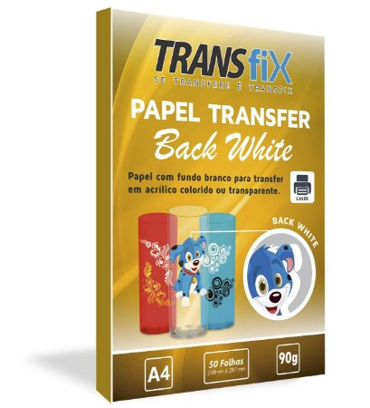 Papel Transfer Back White Transfix