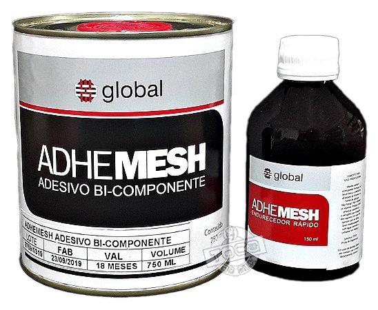 Cola Para Telas Serigrafia Adhe Mesh 750 Ml + Catalisador