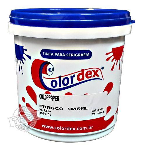 Tinta à Base D'água Para Papel Colorpaper Colordex