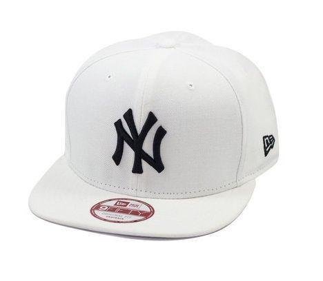 0412bfccd Boné New Soft NY - Branco Logo Preto - Look Shop Web