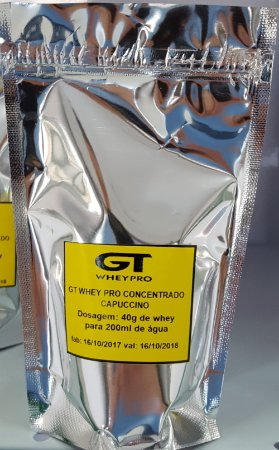 Whey Protein Concentrada GT Whey  Dose Unica