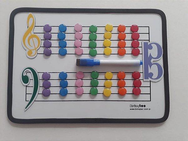 A13 - Pentagrama Magnético Pequeno Color