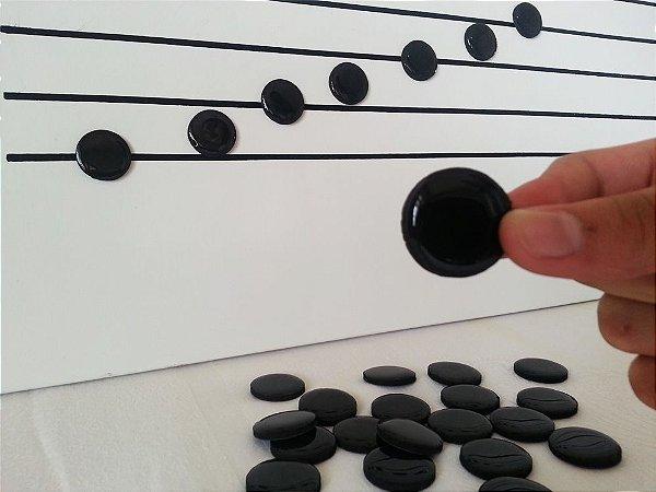 A29 - NOTAS MUSICAIS GRANDES PRETAS