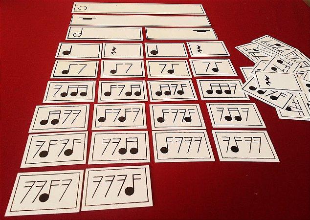 A25 - Figuras Musicais Pequenas Composição