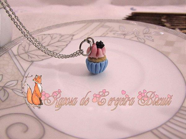 Colar Cupcake - Diversos Sabores