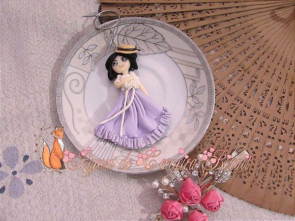 Chaveiro Lady Violet