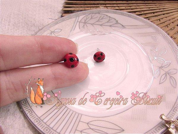 Brincos Lady Bug