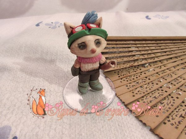 Escultura Teemo - League of Legends