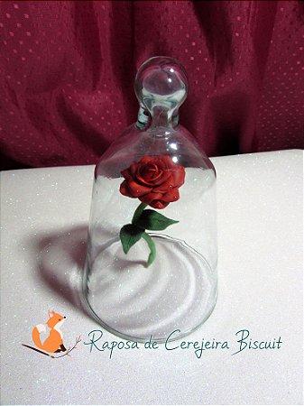 Cúpula Bela e a Fera - Rosa Encantada
