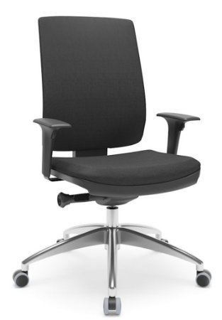 Cadeira Presidente BRIZZA Ergonômica Base Alumínio