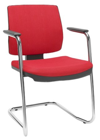 Cadeira BRIZZA Aproximação Base cromada