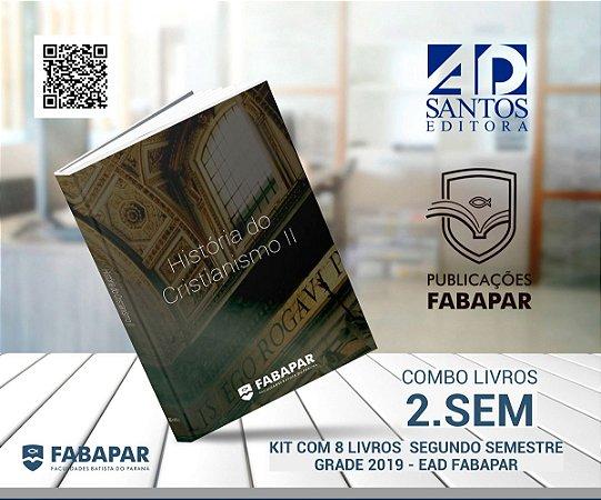 COMBO | 2.SEMESTRE FABAPAR (8 LIVROS) GRADE 2019