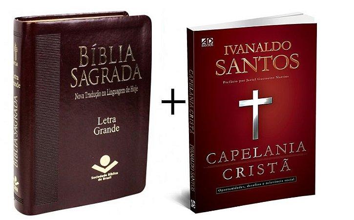 COMBO - Bíblia Sagrada Letra Gigante