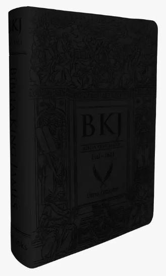 Bíblia King James 1611 - Letra Ultra Gigante - Preta