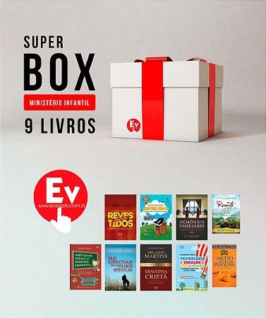 SUPER BOX MINISTÉRIO INFANTIL | 9 LIVROS