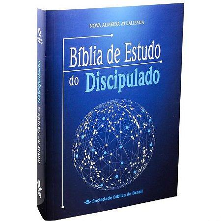 BÍBLIA DE ESTUDO DO DISCÍCULO (capa flex)