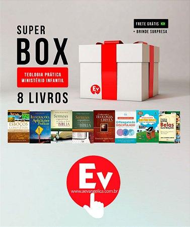 SUPER BOX TEOLOGIA PRÁTICA MINISTÉRIO INFANTIL | 8 LIVROS