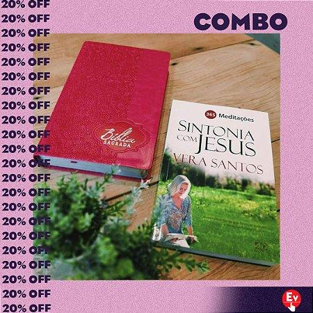 COMBO- BÍBLIA + SINTONIA COM JESUS