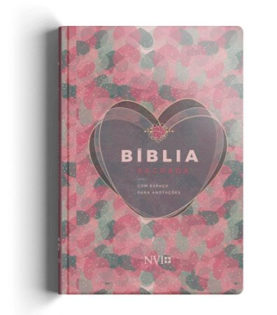 Bíblia ANOTE NVI capa especial - CORAÇÃO