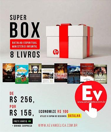 SUPER BOX BATALHA ESPIRITUAL MINISTÉRIO INFANTIL | 8 LIVROS by Flávia Grégio