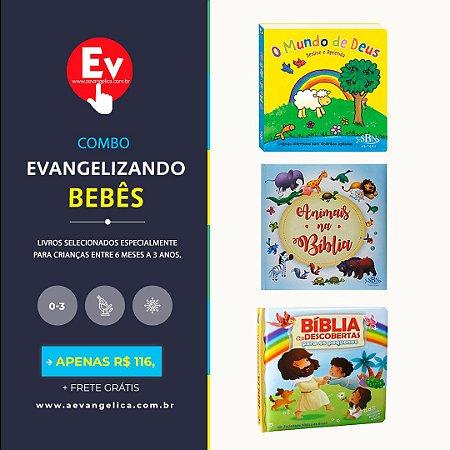 COMBO EVANGELIZANDO BEBÊS | by Caroline Vargas