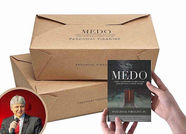 COMBO 100 LIVROS   MEDO - PASCHOAL PIRAGINE JR (2a.Edição)