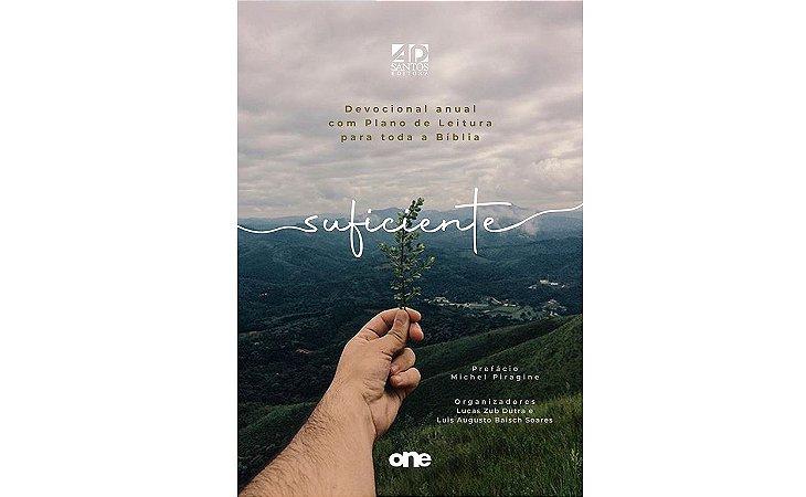 LANÇAMENTO | SUFICIENTE - DEVOCIONAL ANUAL COM PLANO DE LEITURA PARA TODA A BÍBLIA